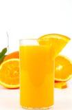 Freshly squeezed orange juice Stock Images