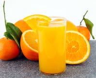 Freshly squeezed orange juice Royalty Free Stock Images