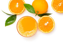 Freshly squeezed orange juice Stock Photo