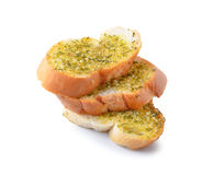Freshly toasted garlic bread Royalty Free Stock Images
