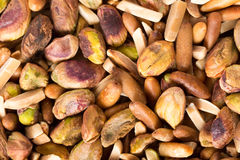 Freshly toasted nuts Royalty Free Stock Photography