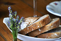 Freshly traditional bread Royalty Free Stock Photography