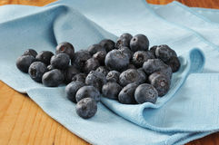 Freshly washed blueberries Royalty Free Stock Images