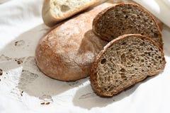 Freshness Bread Set Stock Photography