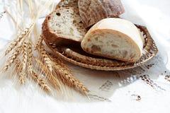 Freshness Bread Set Stock Photo