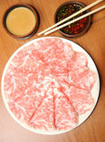 Freshness Kobe beef from Japan. Best beef from asia Stock Photography