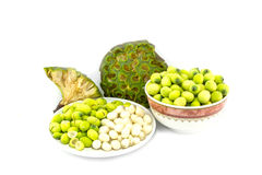 Freshness Lotus seed and pod Stock Image