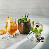 Freshness Tasty Cocktail stock images