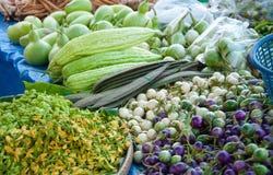 Freshness vegetables. At a farmer's market Royalty Free Stock Photos