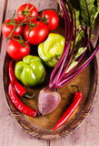 Freshness  Vegetables Stock Images