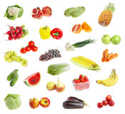 Freshs fruit andvegetables Royalty Free Stock Photo