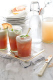 Freshs queezed grapefruit juice Royalty-vrije Stock Foto's