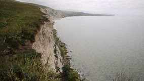 Freshwater Bay cliffs Isle of Wight Royalty Free Stock Photography