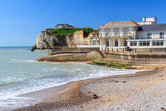 Freshwater Bay Isle Of Wight England Stock Image