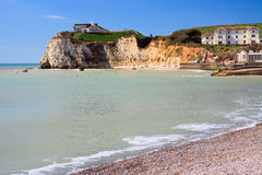 Freshwater Bay Isle Of Wight England Royalty Free Stock Photos