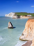 Freshwater Bay Isle Of Wight England Stock Photo