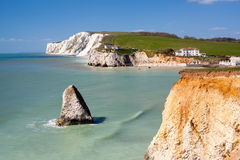 Freshwater Bay Isle Of Wight England Royalty Free Stock Images