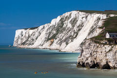 Freshwater Bay Isle Of Wight England Royalty Free Stock Image