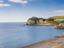 Freshwater Bay Isle Of Wight England Stock Photos