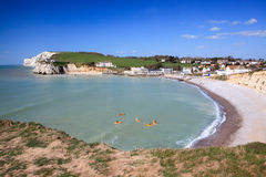 Freshwater Bay Isle Of Wight England Stock Photography