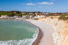 Freshwater Bay Isle Of Wight UK Stock Photos