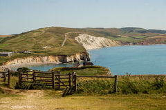 Freshwater bay Isle of Wight Stock Images
