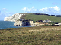 Freshwater bay and Tennyson downs. Royalty Free Stock Photo