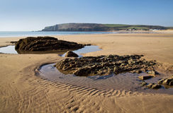 Freshwater East beach and Bay Royalty Free Stock Photo
