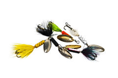 Freshwater Fishing Lures Stock Photos