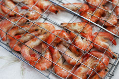 Freshwater prawn seafood. Stock Photo