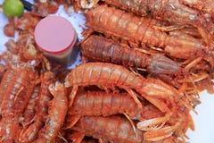 Freshwater prawn seafood. Stock Images