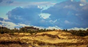 Freshwater Sand Dunes Stock Photography