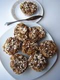 Muffin Splet πιάτα στοκ εικόνα