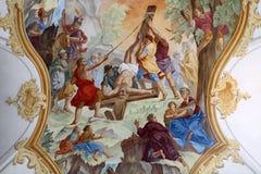 fresk Zdjęcia Stock