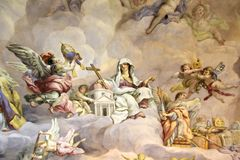 fresk Obraz Stock