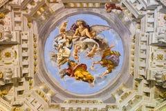 Fresk Palazzo Pitti, Florencja - Zdjęcia Royalty Free