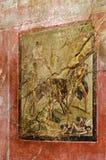 Fresk, Pompeii Zdjęcie Stock