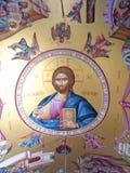 Fresko dans une église Image libre de droits