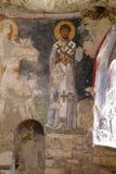 Fresko-Kirche von Sankt Nikolaus Stockfotografie