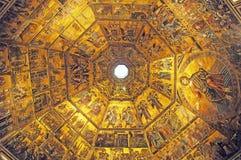 Fresko's, Florence, Italië Royalty-vrije Stock Afbeeldingen