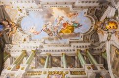 Fresko's Palazzo Pitti - Florence royalty-vrije stock fotografie