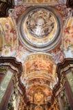 Fresko in Stift Melk, Österreich Lizenzfreie Stockfotos