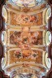 Fresko in Stift Melk, Österreich Stockfoto