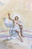 Fresko Wieskirche Stockfotos