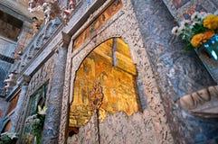 Freskomålning av Panagiaen Ekatontapyliani Fotografering för Bildbyråer