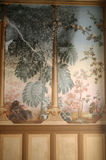 Freskomålning med formen Royaltyfri Foto