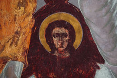 Freskos in der Kirche Lizenzfreies Stockbild