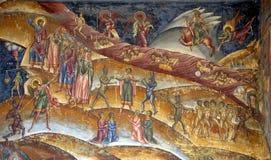 fresku chrristian purgatory Fotografia Stock
