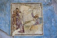 Fresku dom, Pompeii Fotografia Stock
