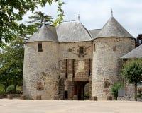 Fresnay Castle Royalty Free Stock Photos